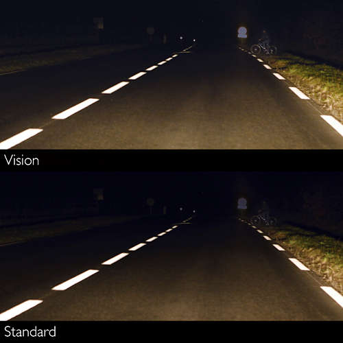 standar VS philips vision
